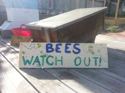 -Bees watch out